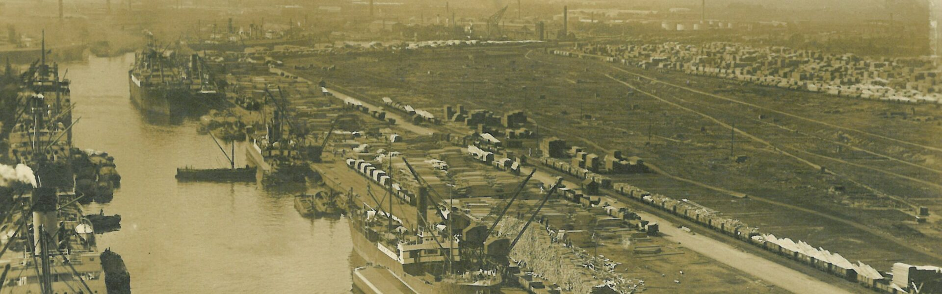 History 1927 Shipping Canal