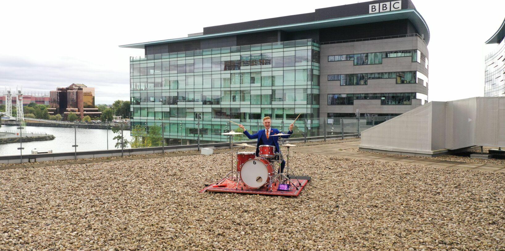 BBC Children in Need drumming challenge